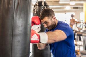 Boxing at Gym Plus