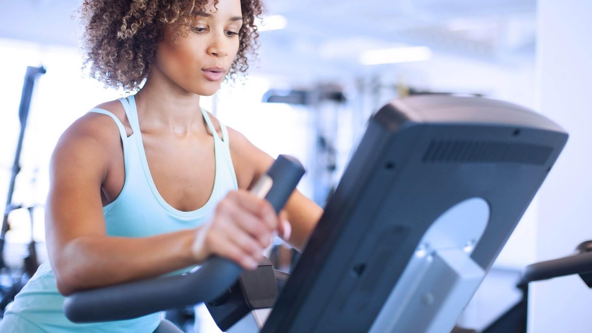Elliptical at Gym Plus